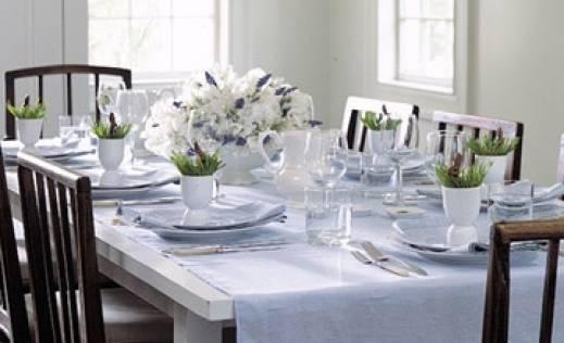 pravilno postavljanje stola i serviranje
