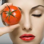 paradajz lice kosu
