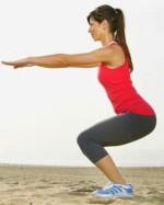 Vežbe za zatezanje mišića nogu kod kuće