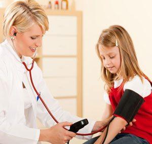 Hipertenzija : povišen krvni pritisak kod dece