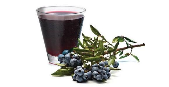 Sirup i domaći sok od borovnice recept