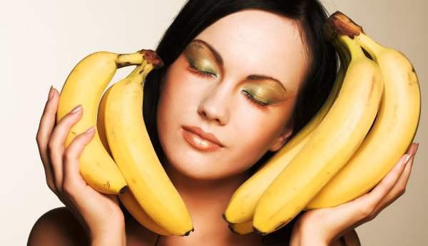 maska za kosu lice od banane