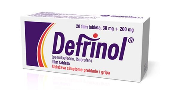Defrinol tablete