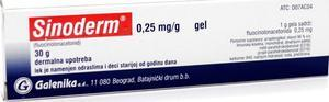 Sinoderm (mast, krema) – lek za kožne probleme