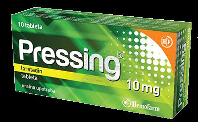 Pressing lek protiv alergija – upotreba, doziranje, neželjena dejstva