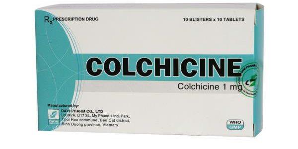 Kolhicin tablete – najbolji lek za giht