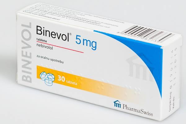 binevol tablete 5 mg
