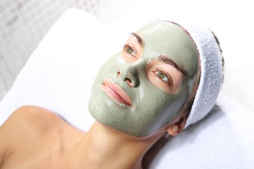 zelena glina za lice