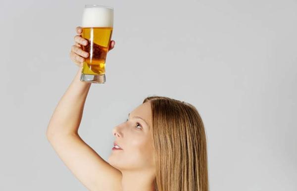 pivo za kosu